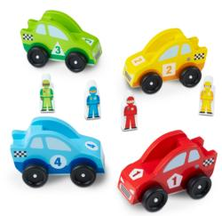 Race Car Vehicle Set Wooden