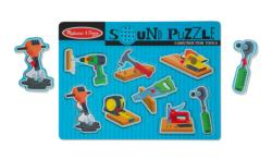 Construction Tools Construction Peg Puzzle