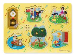 Sing-Along Nursery Rhymes 1 People Jumbo / Chunky / Peg Puzzle
