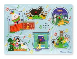 Sing-Along Nursery Rhymes 2 People Jumbo / Chunky / Peg Puzzle