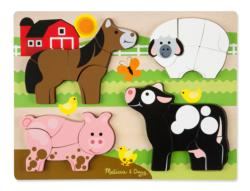 Jumbo Farm Farm Animals Children's Puzzles