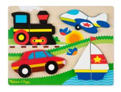Vehicles Vehicles Chunky / Peg Puzzle
