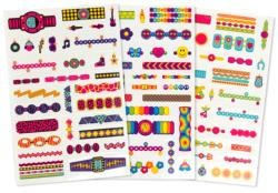 Temporary Tattoos - Jewelry Activity Books and Stickers