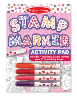 Stamp Marker Activity Pad - Pink Arts and Crafts