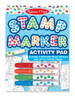Stamp Marker Activity Pad - Blue Arts and Crafts