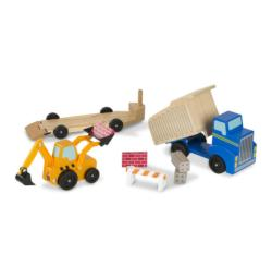 Dump Truck & Loader Dexterity Toy