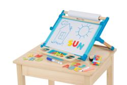 Deluxe Double Sided Tabletop Easel Toy