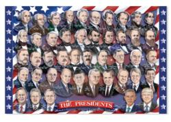 Presidents of the U.S.A. Patriotic Children's Puzzles
