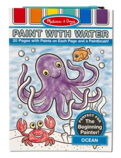 Paint with Water - Ocean Marine Life Arts and Crafts