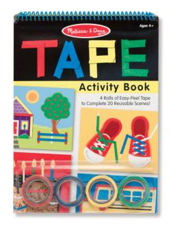 Tape Activity Book Activity Books and Stickers