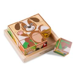 My First Cube Puzzle - Animals Animals Block Puzzle