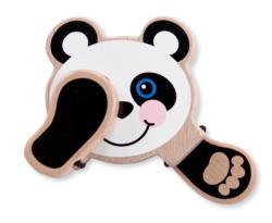 Peek-a-Boo Panda Toy