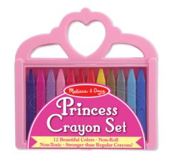 Princess Crayon Set Children's Coloring Books, Pads, or Puzzles