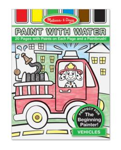 Paint with Water - Vehicles Vehicles Arts and Crafts
