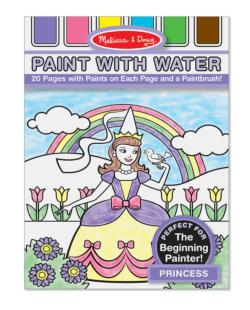 Paint with Water - Princess Princess Arts and Crafts