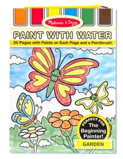 Paint with Water - Garden Garden Arts and Crafts