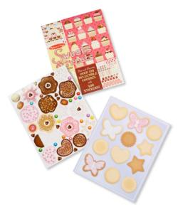 Sweets & Treats Sticker Pad Activity Books and Stickers