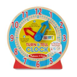 Turn & Tell Clock Educational Toy