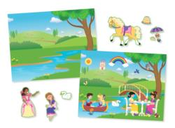 Reusable Sticker Pad - Princess Castle Activity Books and Stickers