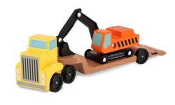 Trailer & Excavator Toy