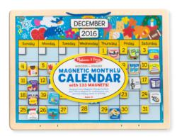 Monthly Magnetic Calendar Educational Toy