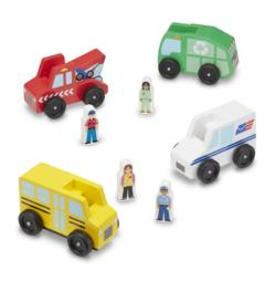 Community Vehicle Set Hand-eye coordination Toy