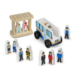Off To Work Bus Set Toy
