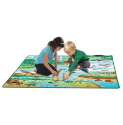 Jumbo Habitats Rug Activity - Educational