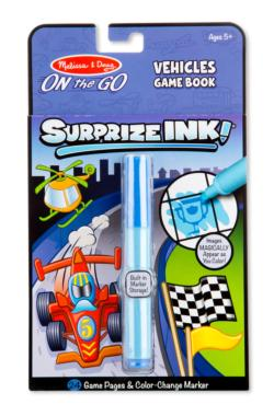 Surprize Ink! - Vehicles Activity Books and Stickers