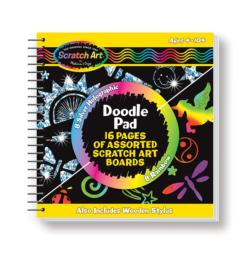 Scratch Art Doodle Pad Arts and Crafts