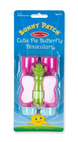 Cutie Pie Butterfly Binoculars Toy