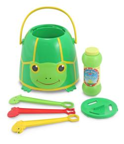 Tootle Turtle Bubble Bucket Toy