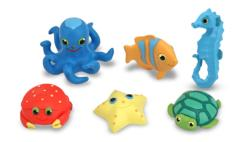 Seaside Sidekicks Creature Set Toy