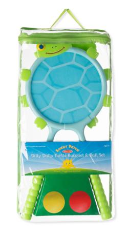 Dilly Dally Turtle Racquet Set Outdoor Play