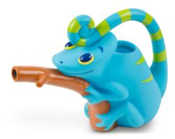 Camo Chameleon Watering Can Toy