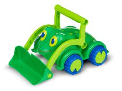 Skippy Frog Bulldozer Toy