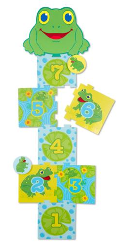 Skippy Frog Hopscotch Toy