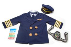 Pilot Role Play Set Pretend Play