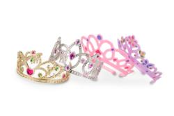 Crown Jewels! Dress-Up Tiaras Pretend Play Toy