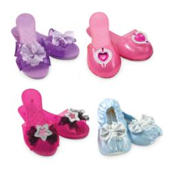 Step in Style! Dress-Up Shoes Pretend Play