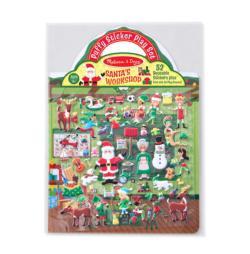 Puffy Sticker Play Set - Santa's Workshop