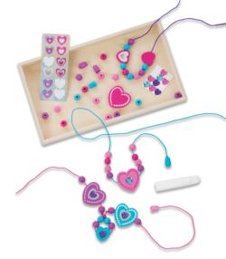 Heart Bead Set Arts and Crafts