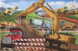 Building Site Construction Children's Puzzles