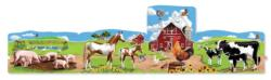 Farm Farm Animals Floor Puzzle