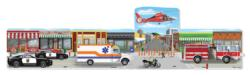 Emergency Rescue Vehicles Children's Puzzles
