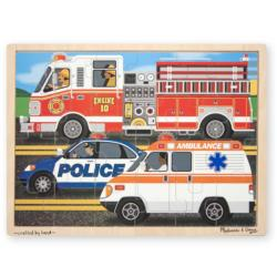 To The Rescue! Vehicles Children's Puzzles