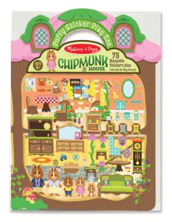 Chipmunk House Activity Book and Stickers