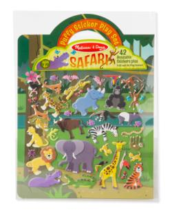 Safari Jungle Animals Activity Book and Stickers