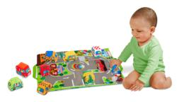 Take-Along Town Play Mat Hand-eye coordination Toy
