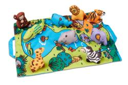 Take-Along Safari Play Mat Toy